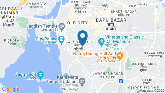 Hotel Vinayakam Map
