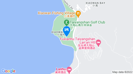 Hilton Yuxi Fuxian Lake Map
