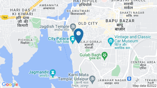 Hotel Raj Palace Map