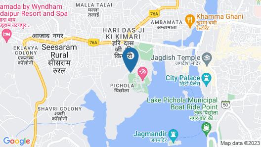 Chunda Palace Map