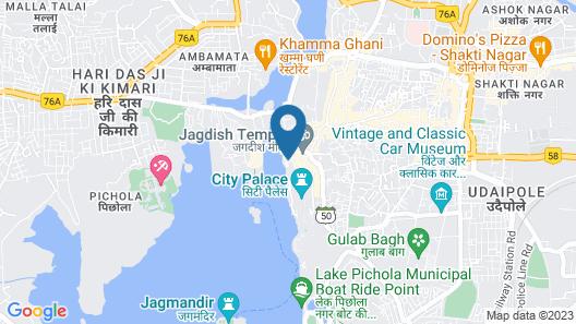 Jaiwana Haveli Map