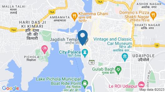 Hotel Poonam Haveli Map