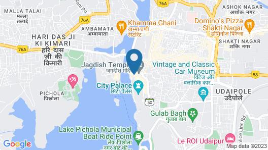 Mewar Haveli Map