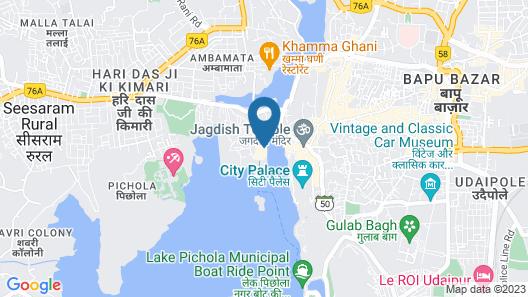 Hotel Gaj Vilas Map
