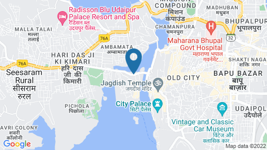 Keekoo Udaipur Map