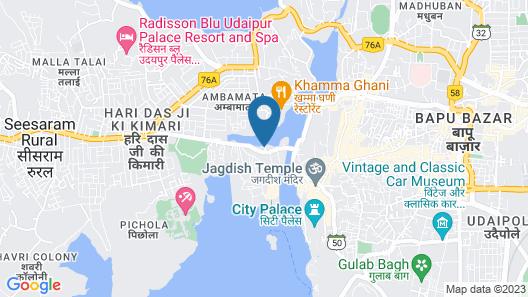 Kanhaiya Home Stay Map