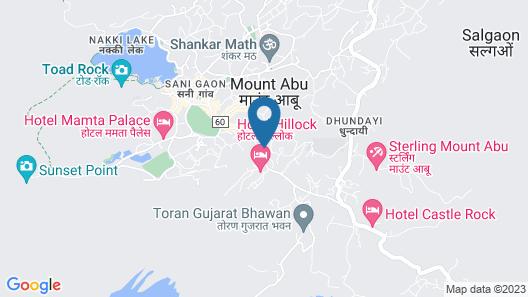 Hotel Mount Regency Map