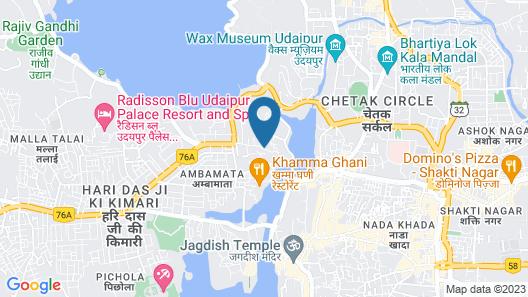 Hotel Raj Kuber Map