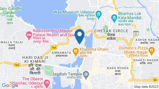 Ambavgarh Palace Map