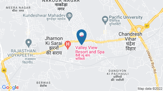 Valley View Resort & Spa by Traavista Map
