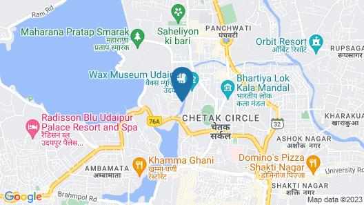 Hotel Fateh Villa Map