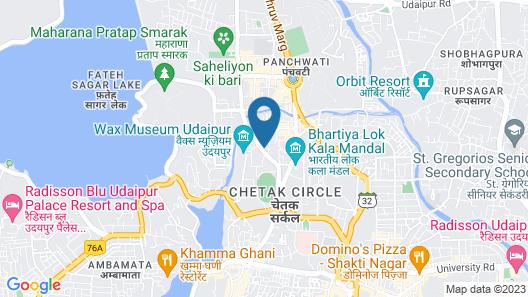 Hotel Sita Map