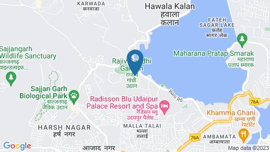 Devendra Garh Map