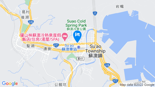 Jin Hua Cold Spring Hotel Map