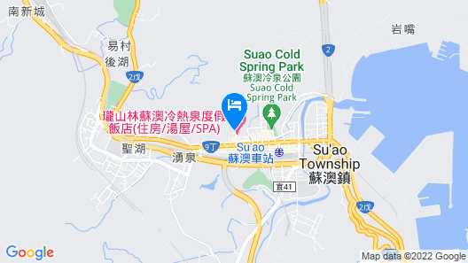 RSL Cold & Hot Springs Resort Suao Map