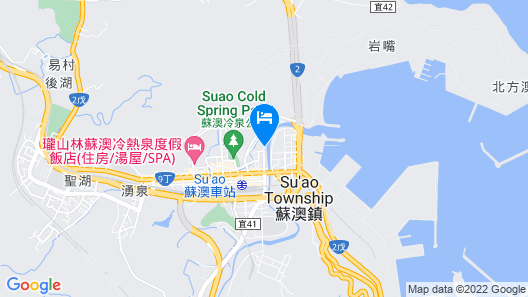 Lakeshore Hotel Suao Map