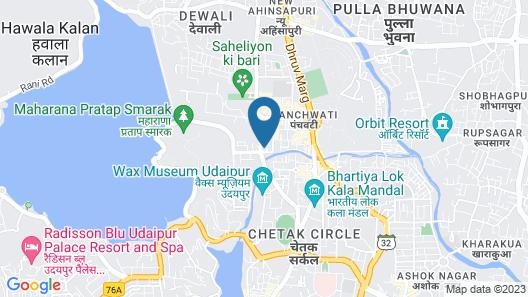 OYO 30226 Hotel Darshan Palace Map