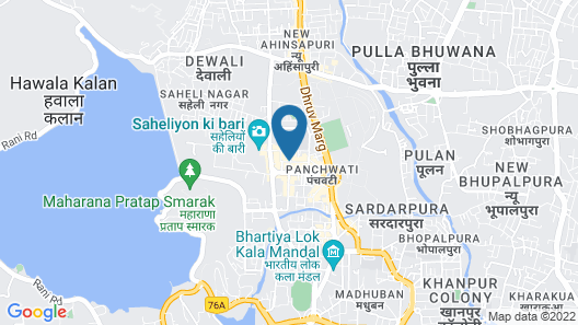 Hotel Seventh Square Map