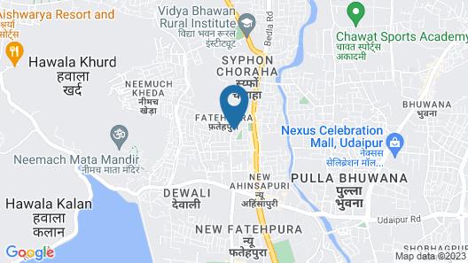N K Heritage Villa Map