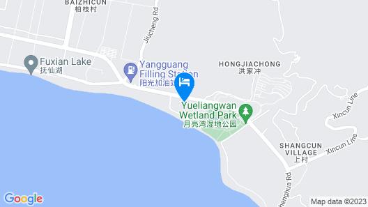 Hideabay Resort Fuxian Lake Map
