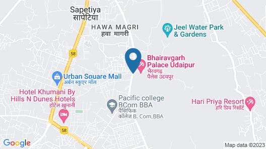 Bhairavgarh Resort & Spa Map
