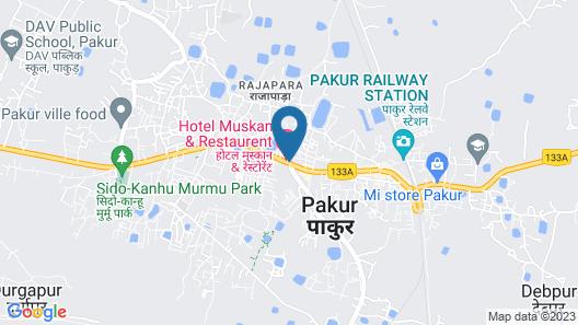 Hotel Muskan Palace Map