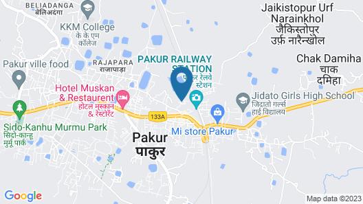 Hotel RK Palace Map