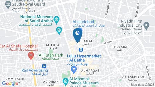 Qasr Al Hamra Al Aswaq Map
