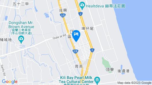 Xiaojiu House Bed and Breakfast Map