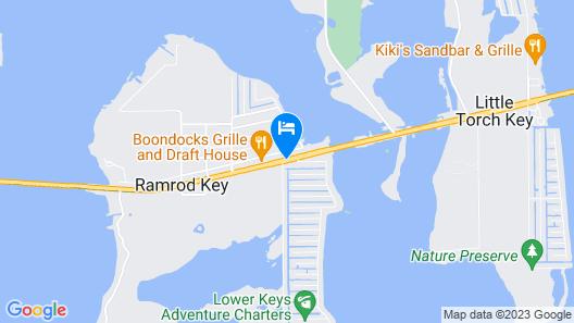 Looe Key Reef Resort Map