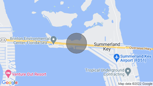 Kelly's Kabin Private Cottage on Summerland Key Map