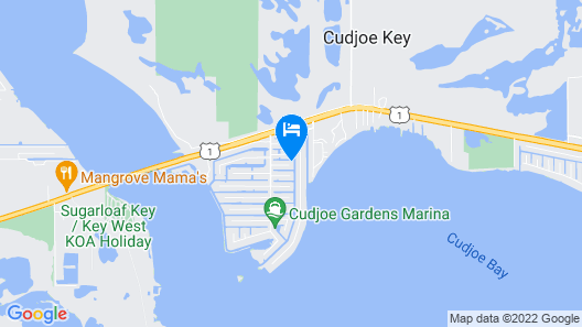 Getaway to the Quiet Florida Keys Map