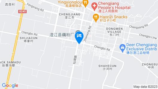 Ramada Plaza Fuxian Lake Map