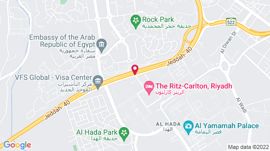 The Ritz-Carlton, Riyadh Map
