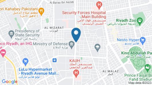 Radisson Blu Hotel, Riyadh Map