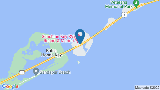 Sunshine Key RV Resort & Marina Map