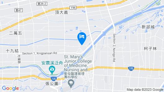 Hui Yun B&B Map