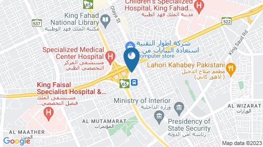 Holiday Inn Riyadh - Meydan, an IHG Hotel Map
