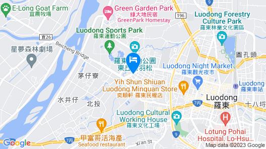JIUWU HOTEL Map