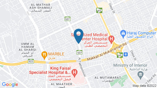 Grand Plaza Hotel Map