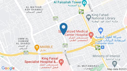Nayyara Specialist Map