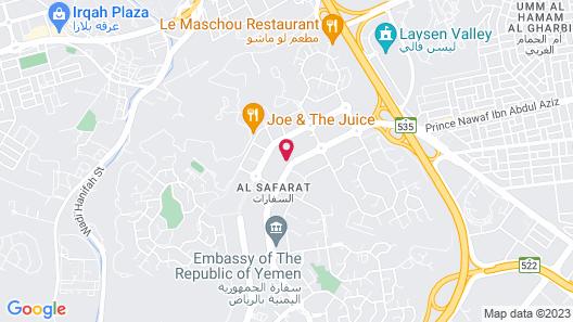 Radisson Blu Hotel & Residence, Riyadh Diplomatic Quarter Map