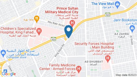 Riyadh Marriott Hotel Map