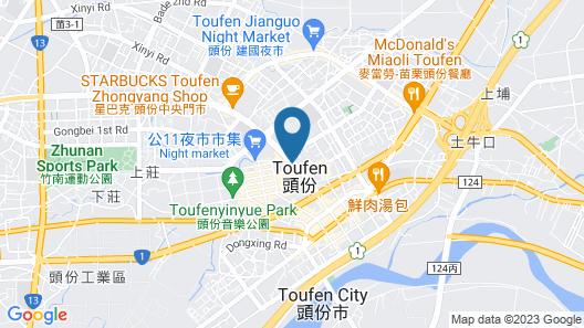 Grand Royal Hotel Map