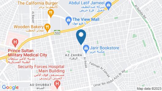 Park Inn By Radisson Riyadh Map