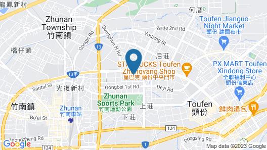Amani SPA Boutique Motel Map