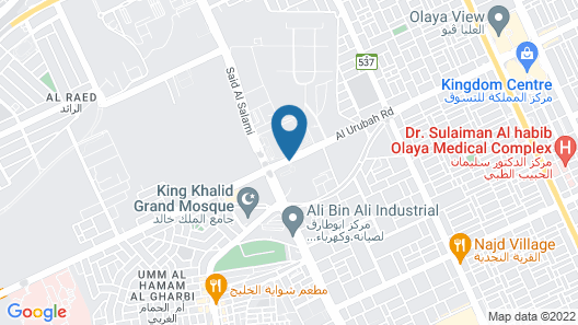Al Mashreq Boutique Hotel Map