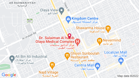 Novotel Riyadh Al Anoud Map
