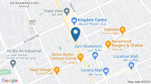 Novotel Riyadh Al Anoud Map