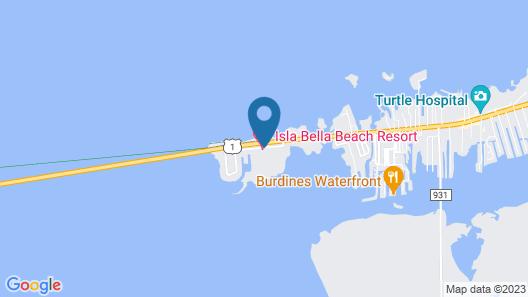Isla Bella Beach Resort & Spa Map